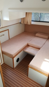Glasson Lass aft cabin